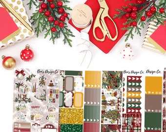 Mistletoe // Weekly Planner Sticker Kit