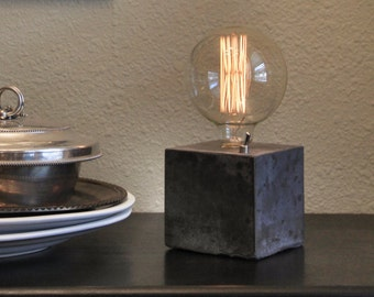 Desk Lamp - Concrete Lamp