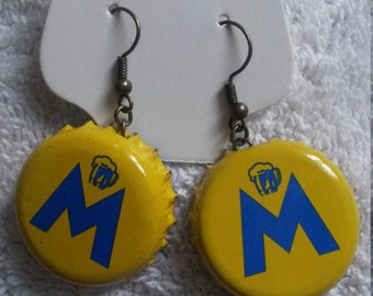 Moritz Bottle Cap Earrings