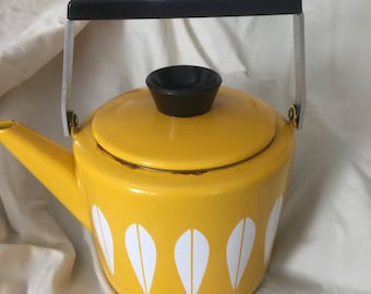 Catherine Holm Ware yellow kettle
