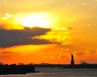 Lady Liberty  Canvas Pop Art Wall Art
