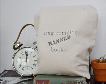 Quote Tote- Banned Books Bag