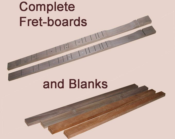 Dulcimer Building Supplies - Fretboards
