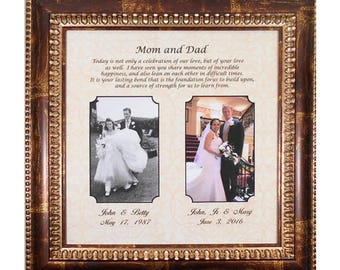 Mother of the Bride Gift, Parents Thank You, Mom Wedding Sign ...