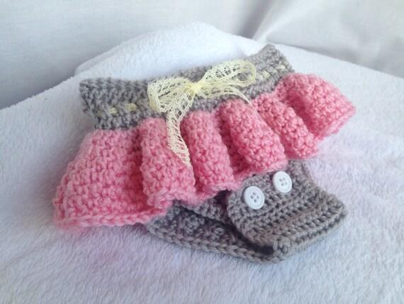 Crochet Pattern Baby Diaper Cover Crochet Baby Skirt Crochet