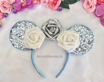 Midnight Princess sparkly Minnie Mouse style ears
