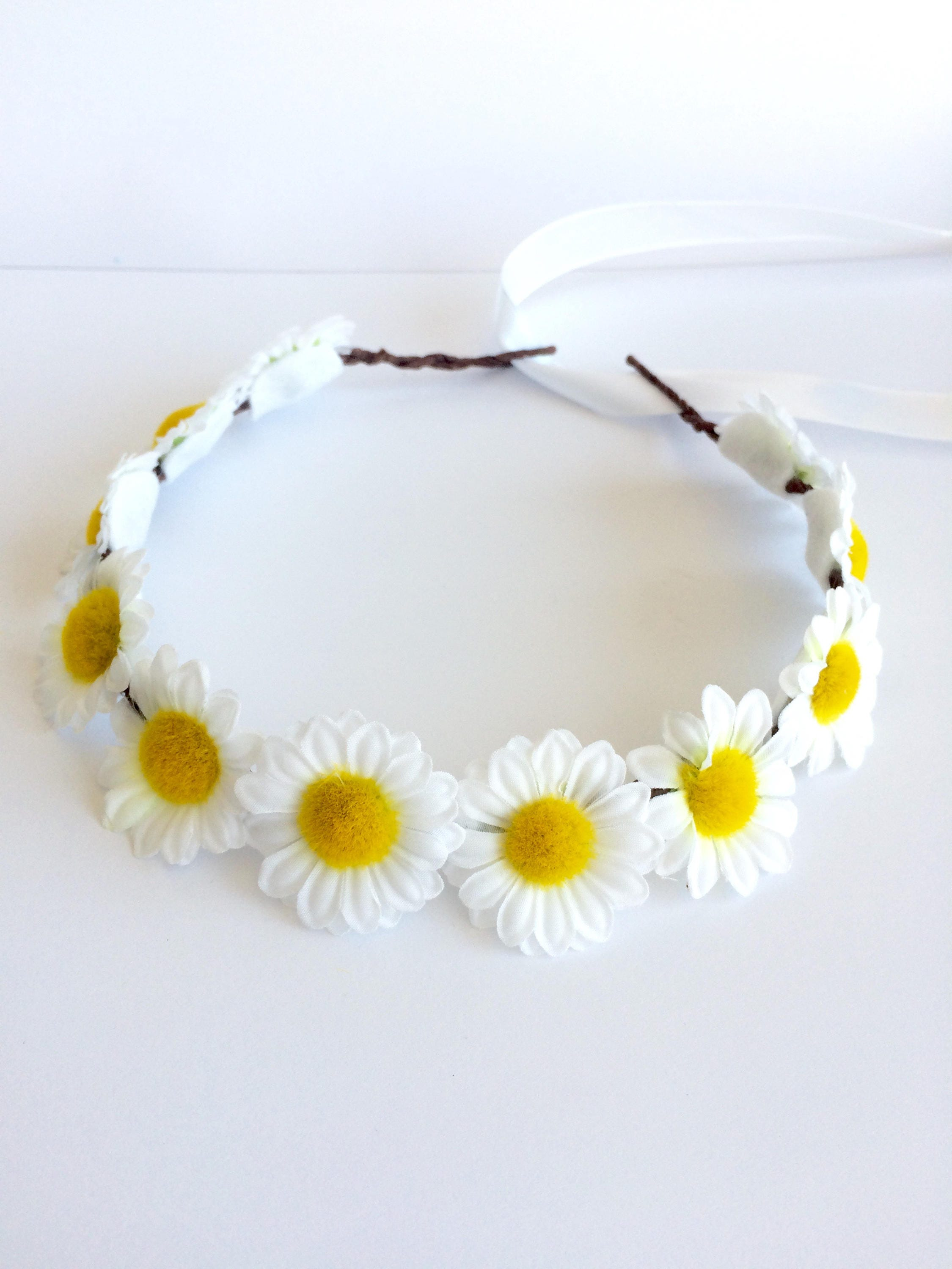 Mommy And Me Mommy And Me Floral Crowns Daisies Headband