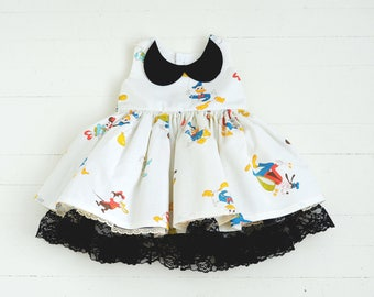 Minnie, Mickey and Friends Dress 12-18 months