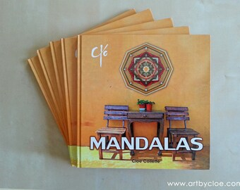 Mandala weaving book by Cloe Collette - 'Art by Cloe'