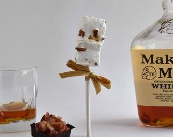 Bacon Bourbon Sutra Pops - All Natural, Handcrafted Gourmet Marshmallows