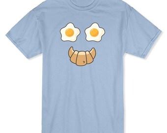 Breakfast Face Graphic Men's T-shirt