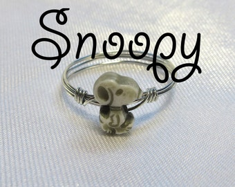 Snoopy Ring - Midi Ring - Gold or Silver