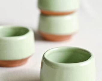 Set of 4 - Hand made Mezcaleros from Oaxaca