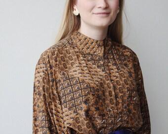 MATILDA BLOUSE   Vintage 70s Blouse   puffed sleeve blouse   70s blouse   vintage blouse   ABLE shoppe