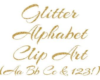Gold alphabet glitter alphabet alphabet clipart gold gold alphabet clipart gold glitter letters numbers clipart cursive alphabet scrapbook elements thecheapjerseys Images