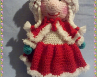 MOTHER CHRISTMAS tutorial