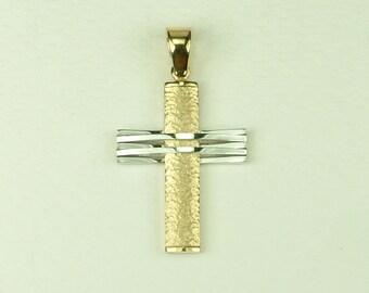 Gold 18k Cross