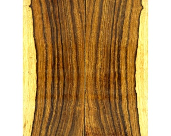 Desert Ironwood - High Contrast Two-Tone Bookmatched Knife Scales  W-2915