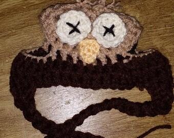 Crochet Dog Hat, Owl Dog Hat, Winter Dog Hat, Dog Accessories, Dog apparel