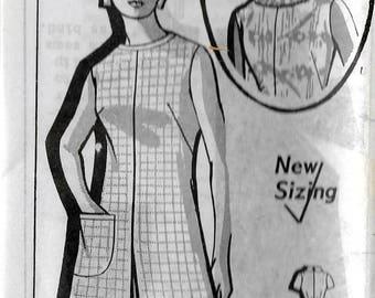 "Vintage 1971 Grit Mail Order 8234 Retro Pantdress Sewing Pattern Size 14 1/2 Bust 37"" UNUSED"
