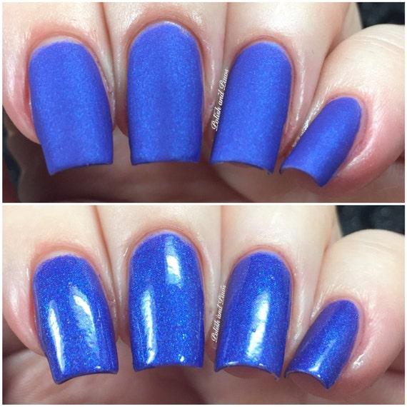 Computer Blue matte nail polish matte blue 5 free
