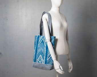 Tote Bag, Cotton Bag, Comfortable Textile Shopping Bag, Shopper Eco Bag, Laptop Bag, Graphic Print Tote Bag