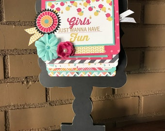 Girlfriends Album kit with stand