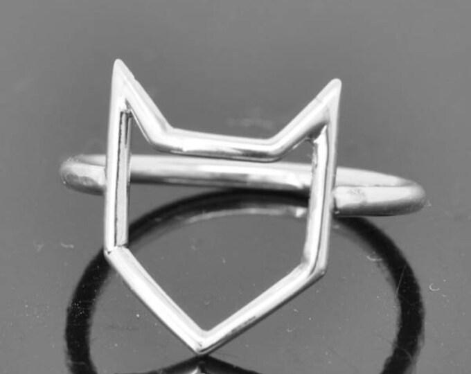 batman ring, super hero ring,  925 sterling silver, custom made, kids ring, kids jewelry