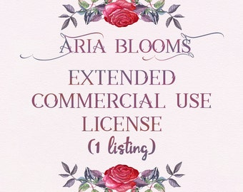 Extended Commercial Use License for 1 Listing (Production Quantity of 201+)