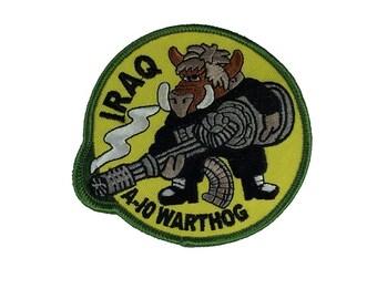USAF Air Force Iraq A-10 Warthog Patch