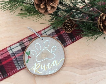 Dog Ornament | Cat Ornament | Christmas Ornament | Paw Ornament | Christmas Decor