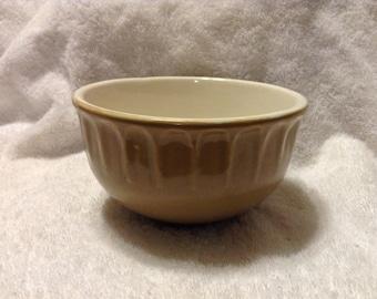 Tan McCoy Pottery Bowl