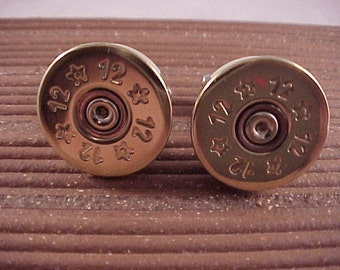 Shotgun Cufflinks / 12 Gauge Shotgun Cuff Links / bullet cufflinks / Wedding Cufflinks / Groomsmen Gift / Fathers Day Gift / Gifts For Men