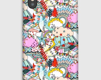 Case for iPhone X 8, 8 +, 7, 7 +, 6s, 6, 6s +, 6, 5 c, 5, 5s 5SE, 4s, 4 Liberty LAND OF DREAMS B