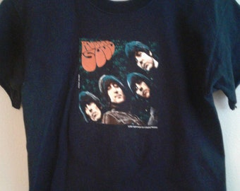 The Beatles ~ Rubber Soul T Shirt ~ 2001 Apple Corp.