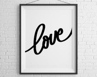 Love Script Print
