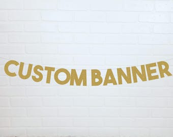 Custom Gold Bachelorette Banner | Custom Gold Bachelorette Sign | Custom Bridal Shower Banner | Gold Bach Banner | Gold Bridal Shower