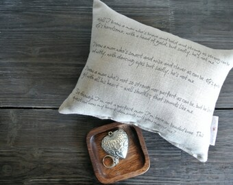 Personalized Pillow, Wedding Proposal Idea, Proposal Pillow, Wedding Day Pillow, Name Date Pillow, shower gift, Couples, Proposal Poem,