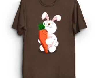 Bunny Love - Cute Animals Bunny Shirt Kawaii T-Shirt