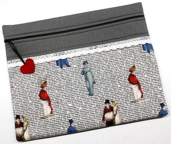 Jane Austen Cross Stitch Project Bag