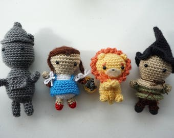 Wizard of Oz Amigurumi Figures