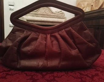Real Brown leather bag