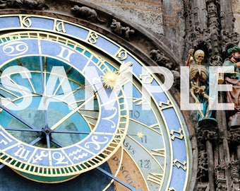Prague Astronomical Clock Photo Download