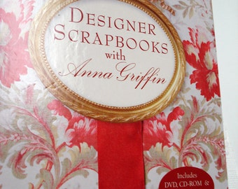 REDUCED from 19.95 - Book Interactive DVD Anna Griffin Designer Scrapbooks