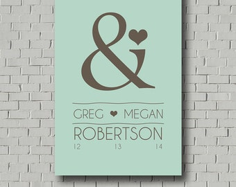 Custom Wedding Guest Book Sign - Wedding Canvas Wedding Signs - Wedding Gift for Bride - Bridal Shower Gift - Wedding Guestbook Alternative
