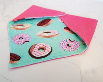 All you need is love and donuts! Personalized Bandana