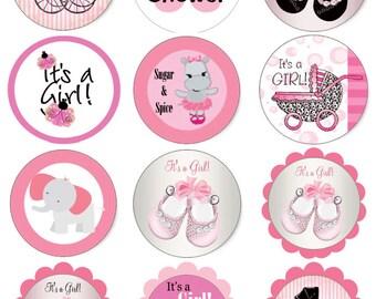 Avery 5294 etsy baby shower stickers pdf file pink baby girl avery 5294 template saigontimesfo