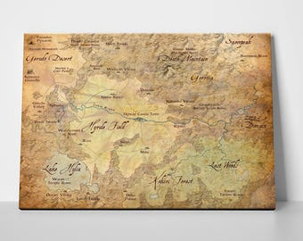 Zelda map etsy legend of zelda map of hyrule gumiabroncs Images