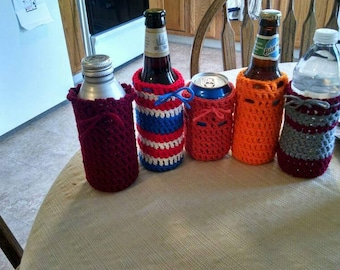 Crochet Can and Bottle drink Cozy