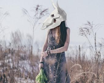 Make your own Bull Skull Mask, Printable Mask, Instant Pdf download, Paper Mask, DIY template